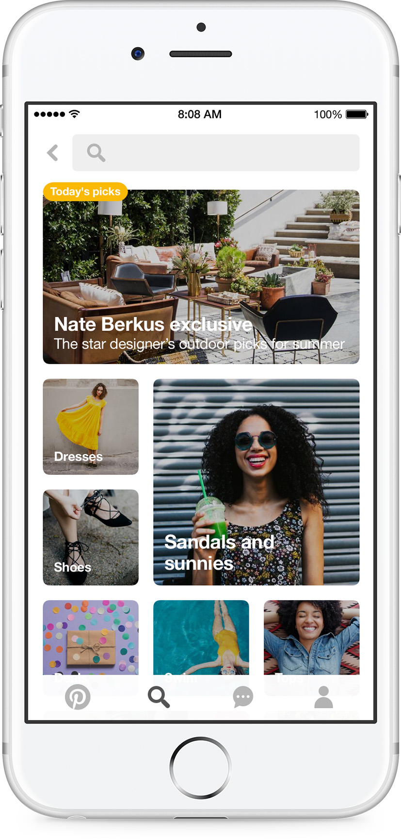 shopping with pinterest about pinterest