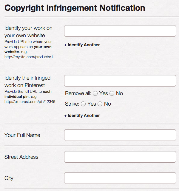 Tools For Copyright Owners  About